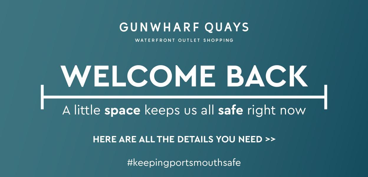 Gunwharf Quays reopening