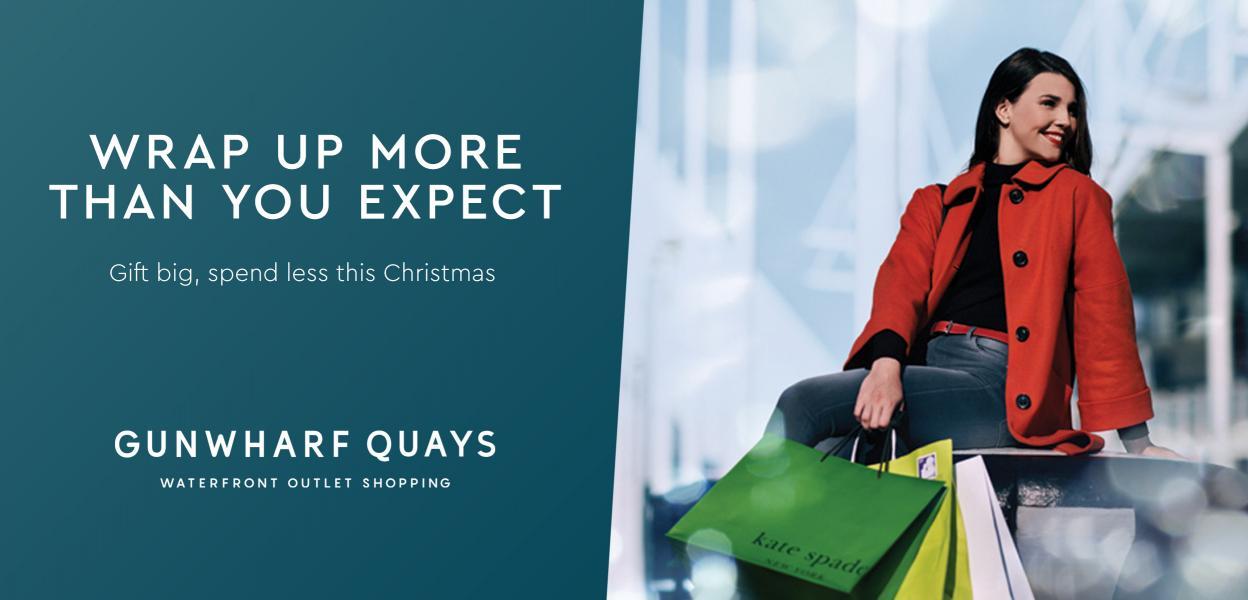 Christmas Shopping | Gunwharf Quays