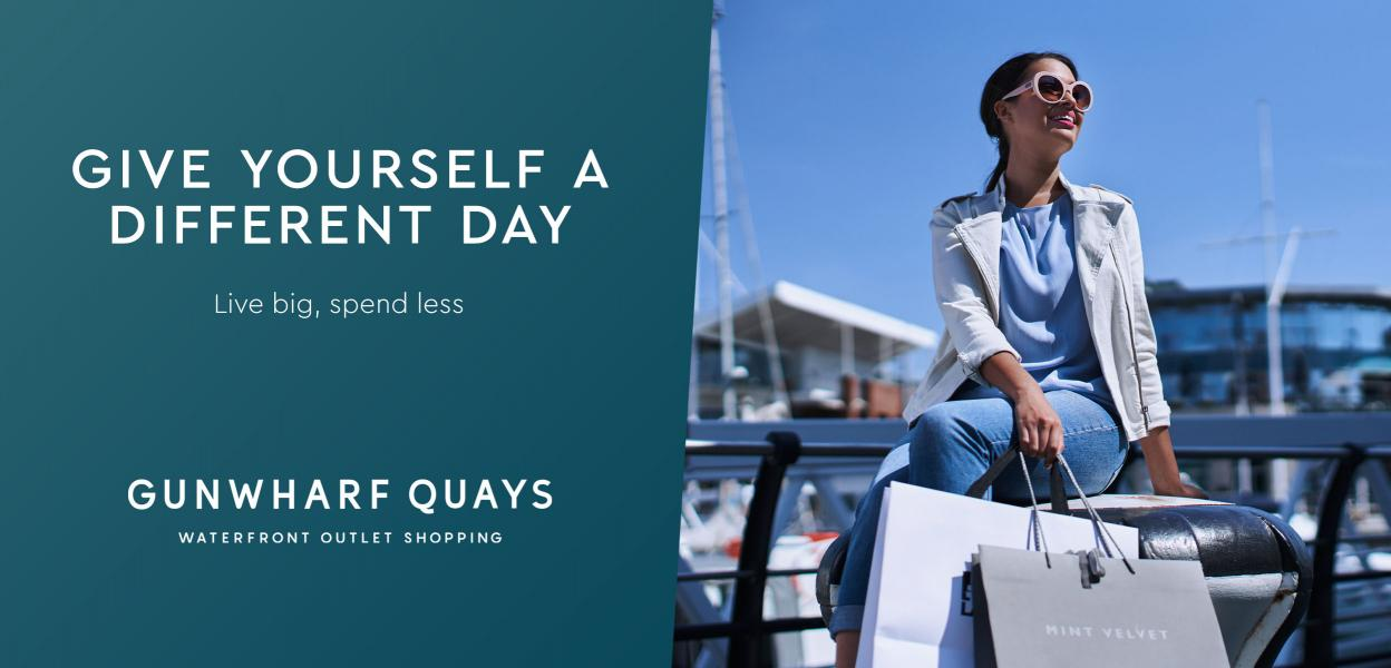 Gunwharf Quays | Waterfront Outlet Shopping