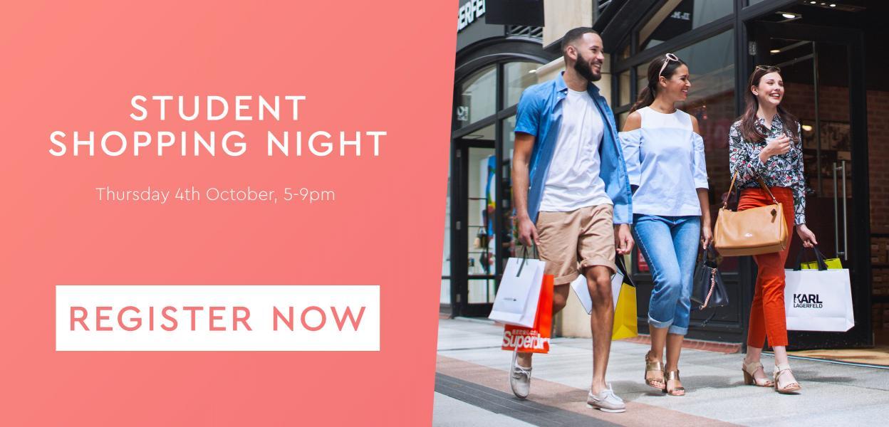 Student Shopping Night | Gunwharf Quays