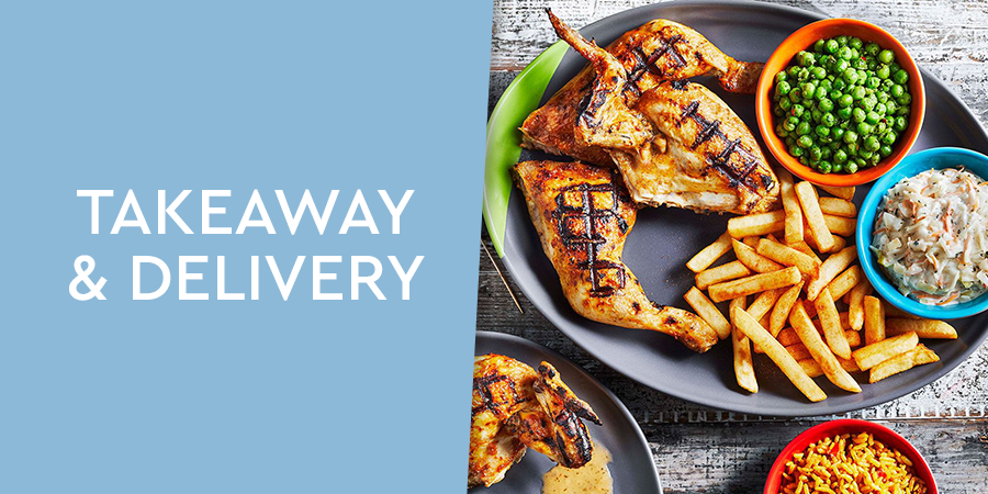 Takeaway and delivery options at Gunwharf Quays