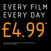 Vue | Standard tickets £4.99 all day every day