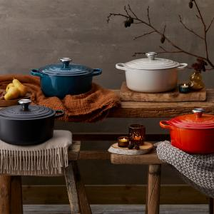 Le Creuset : New Food Is Love Collection