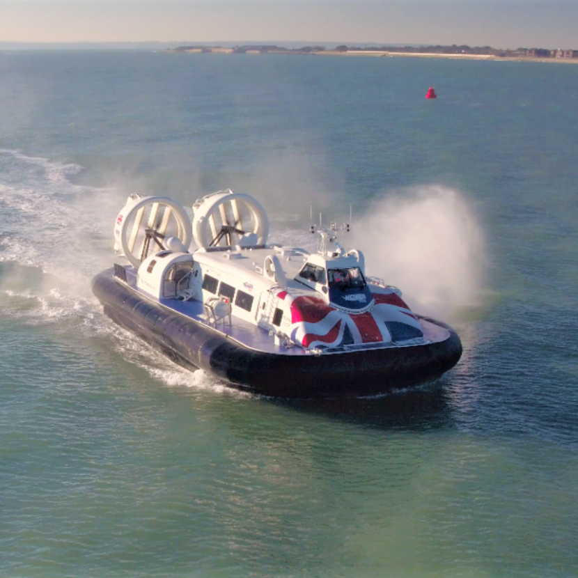 Hovertravel to Gunwharf Quays