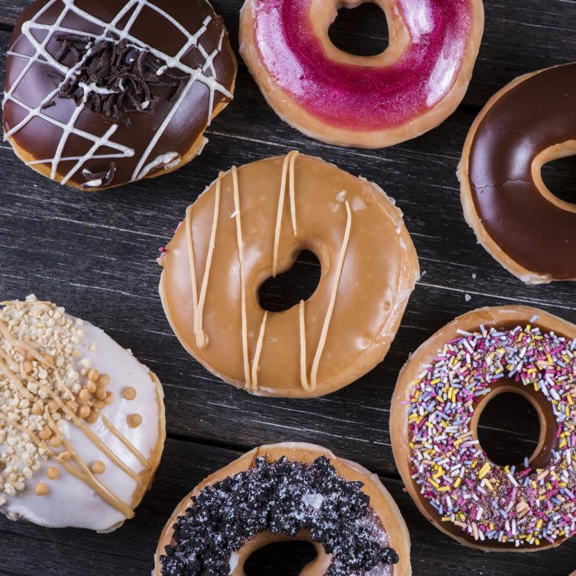 Treat yourself at Krispy Kreme