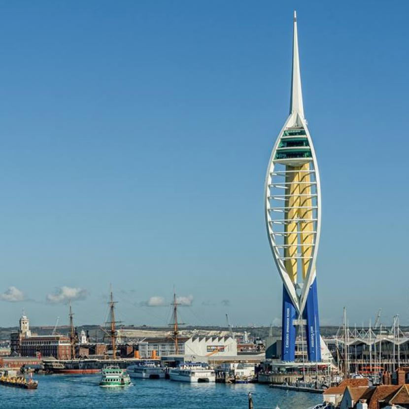 Spinnaker Tower at Gunwharf Quays