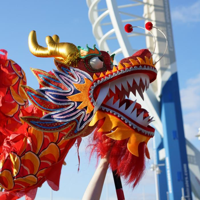Chinese New Year Gunwharf Quays