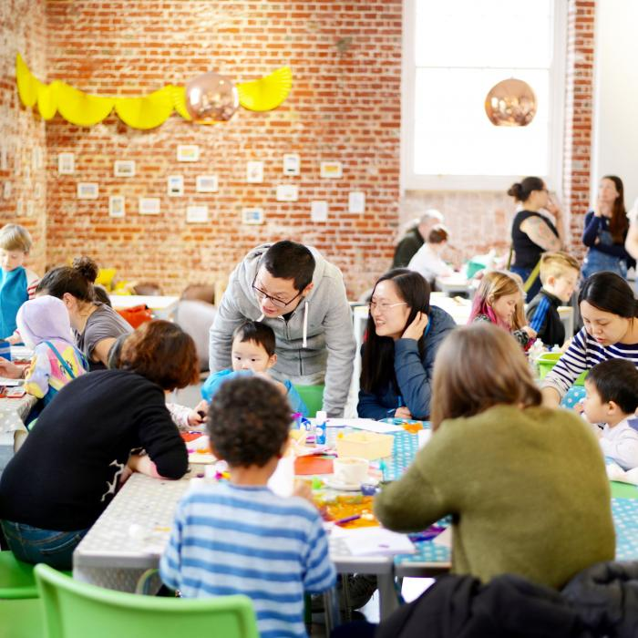 Aspex Gallery | Family Saturdays Needs Your Support