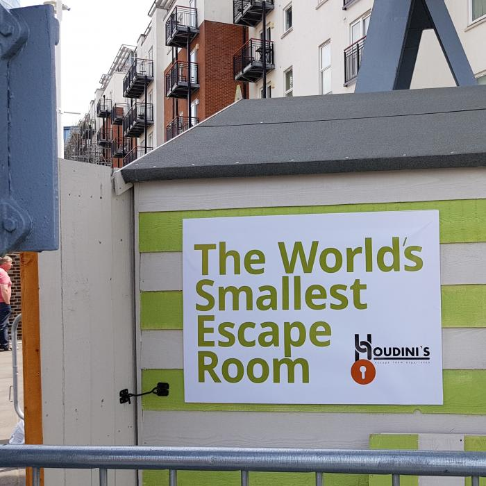 Portsmouth Festivities | Worlds Smallest Escape Room | Gunwharf Quays