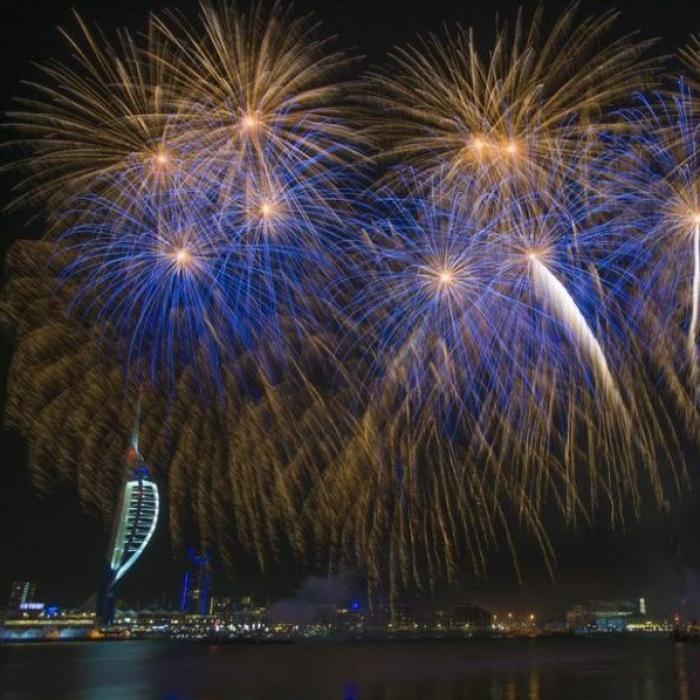D-Day Fireworks