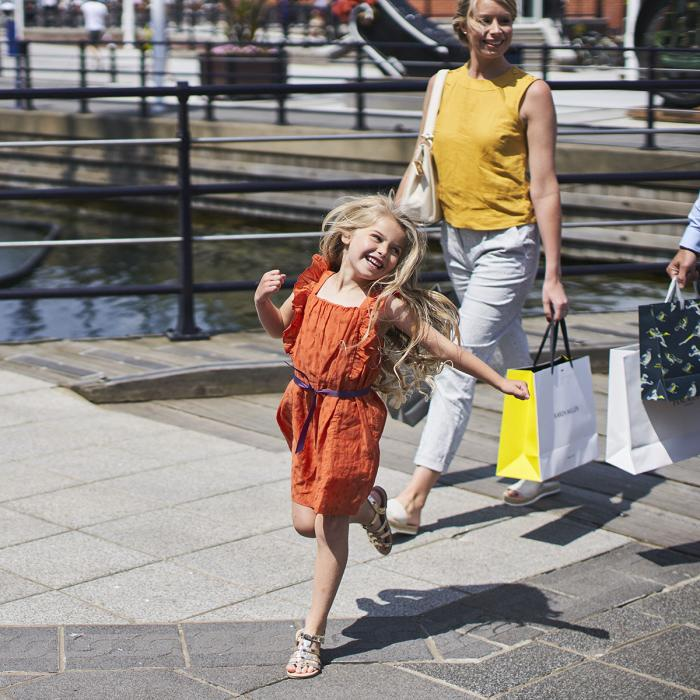 Family Shopping | Gunwharf Quays