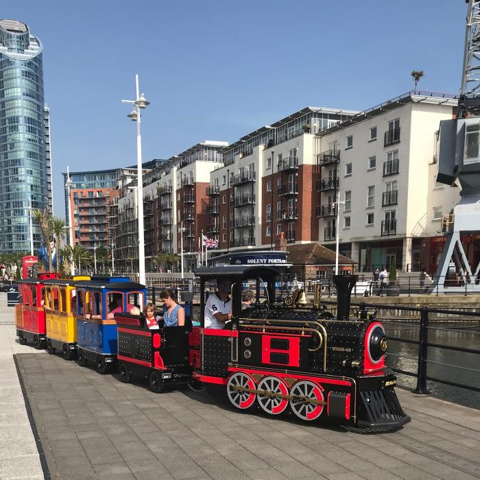 Mini Loco Train | Things to do in Portsmouth | Gunwharf Quays