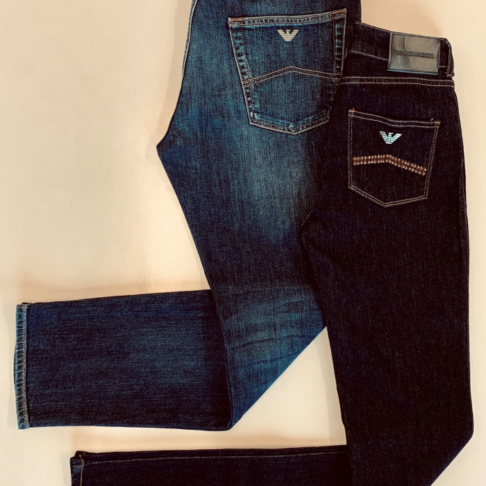 Armani | Denim Promotion | 20% off when you buy 2 pairs of jeans