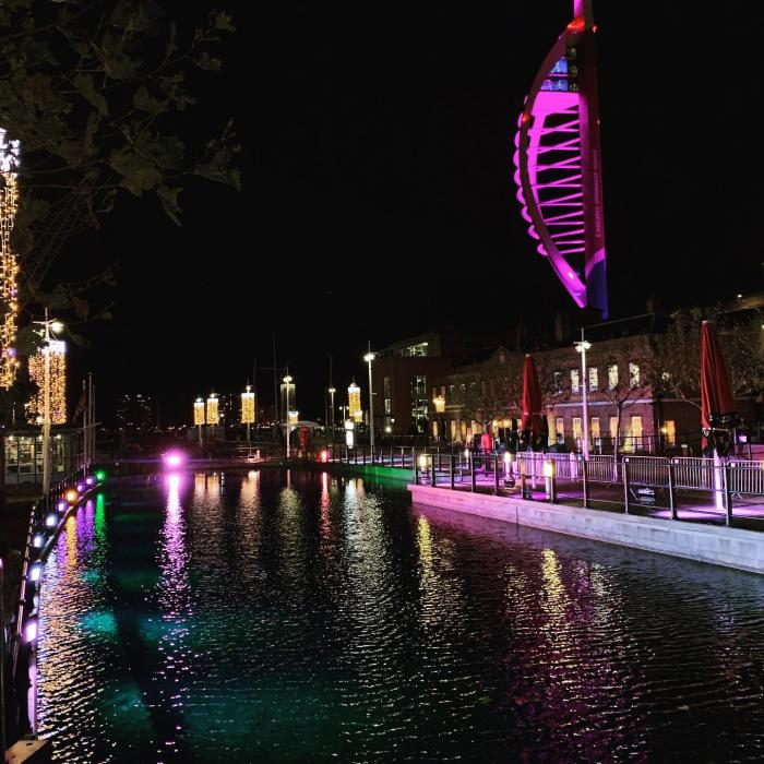 Light Show Extravaganza | Gunwharf Quays