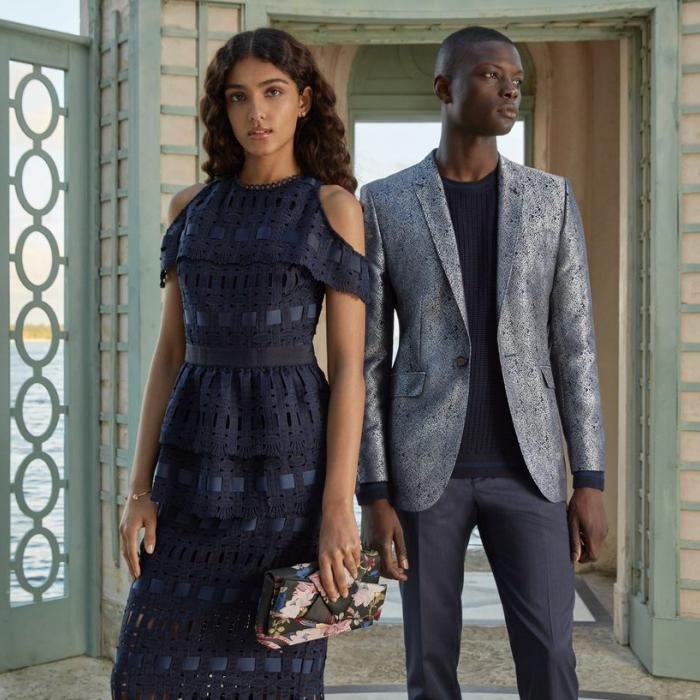 Ted Baker   30% off dresses and mens suits and shirts