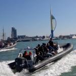 Onboard Gunwharf Quays Portsmouth