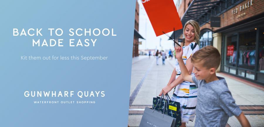 Back to School | Gunwharf Quays