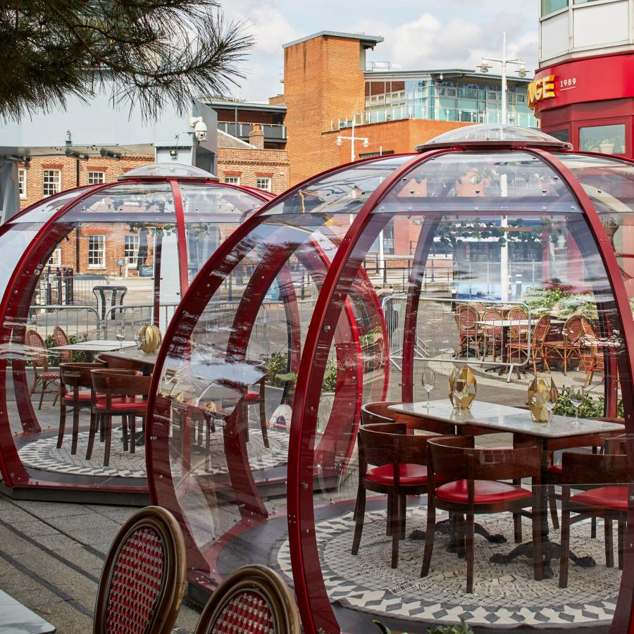 Cafe Rouge Gunwharf Quays