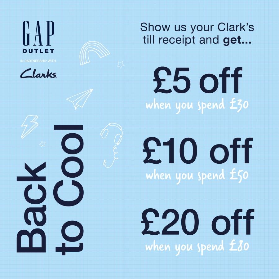 GAP x Clarks | Back to Cool