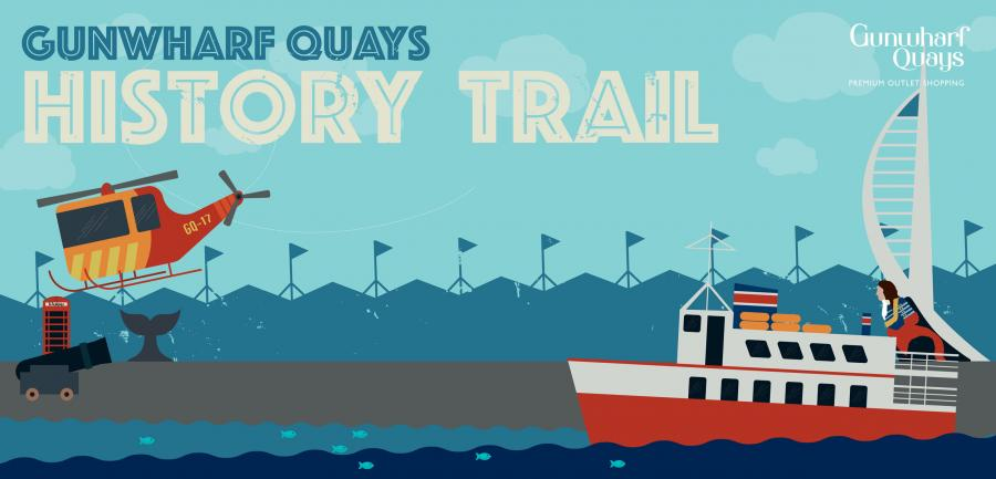 Gunwharf Quays Children's History Trail