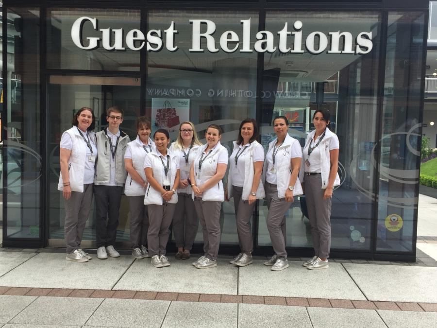 Guest Relations Team | Gunwharf Quays
