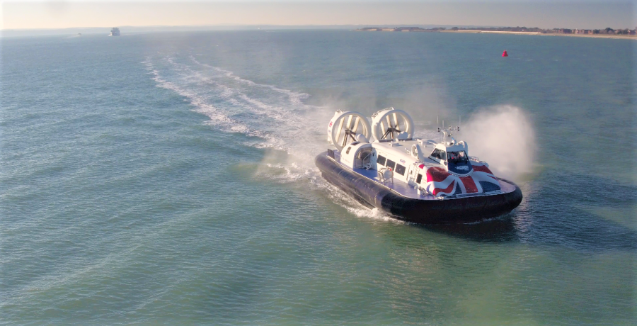 Hovertravel | Gunwharf Quays