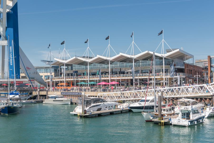 Gunwharf Quays | Getting Here | Outlet Shopping
