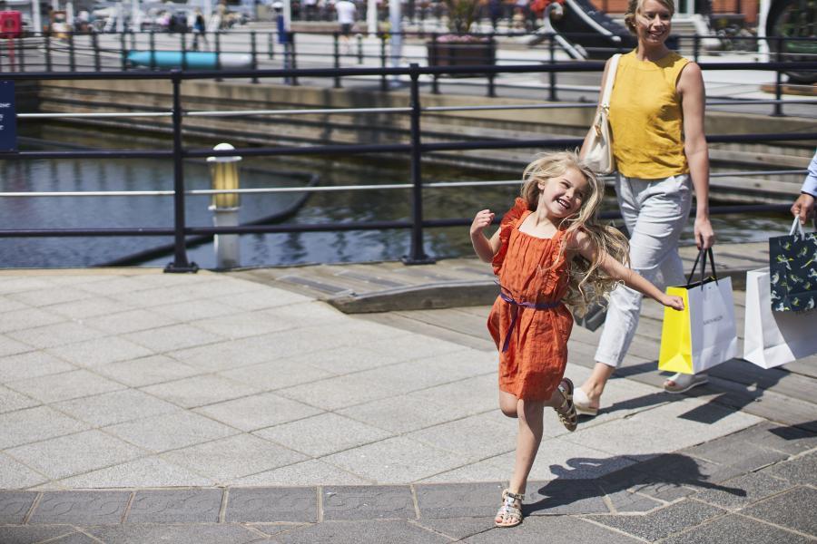 Family Shopping | Gunwharf Quays