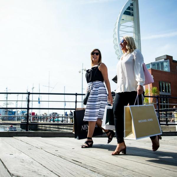 Spring and summer fashion at Gunwharf Quays
