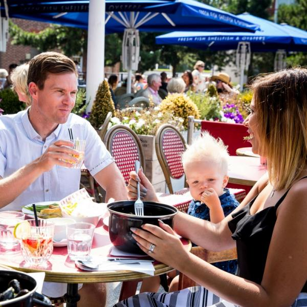 Spring and summer - dine out in style Gunwharf Quays
