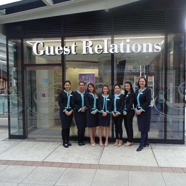 Our Guest Relations team