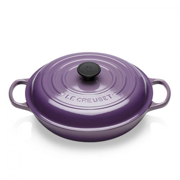 Le Creuset Cast Iron Shallow Ultra Violet Casserole