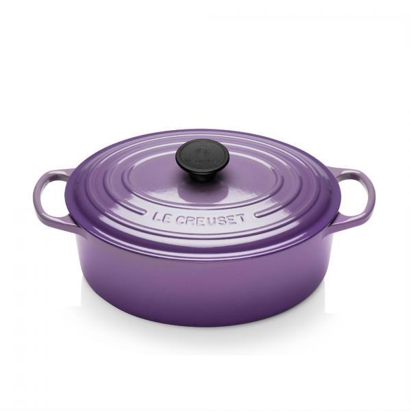 Le Creuset Signature Ultra Violet Cast Iron 29cm Oval Casserole